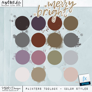 Be Merry Be Bright {Painters-Toolbox: Colorstyles}