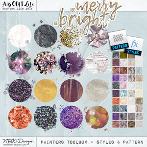 Be Merry Be Bright {Painters-Toolbox: Styles + Pattern}