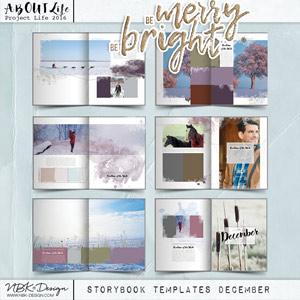 Be Merry Be Bright {Storybook Mini Album December 2016}