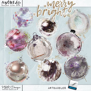 Be Merry Be Bright {artBaubles}