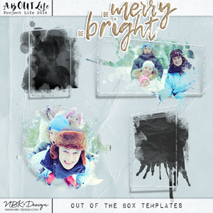 Be Merry Be Bright {Out of the Box Frames}