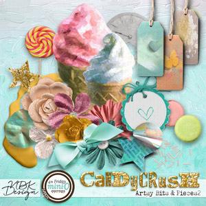 Candy Crush {Artsy Bits & Pieces No2}