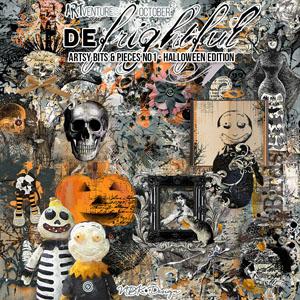 deFrightful {Artsy Bits & Pieces - Halloween Edition}