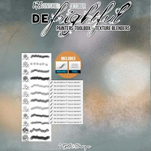 deFrightful {Painters-Toolbox: Textureblenders}