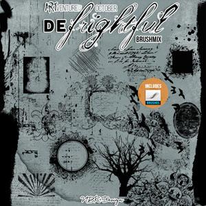 deFrightful {Brushmix – Brushes & Stamps}