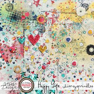 Happy Life {Whimsy Sprinkles}