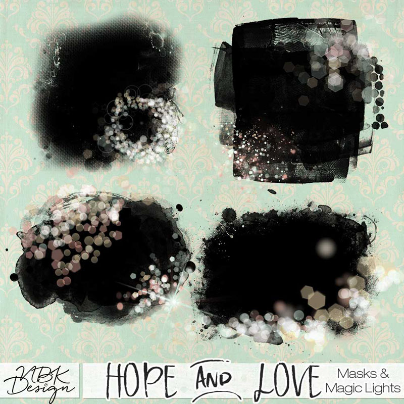 Hope and Love {MagicLights Photomasks}