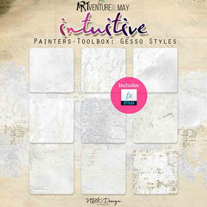 Intuitive {Painters-Toolbox: Gesso Styles}