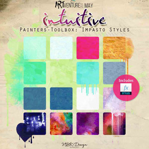 Intuitive {Painters-Toolbox: Impasto Styles}