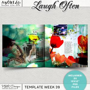 Laugh Often {Template 39/2016}