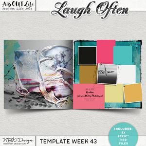Laugh Often {Template 43/2016}