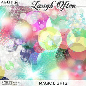 Laugh Often {Magic Lights}