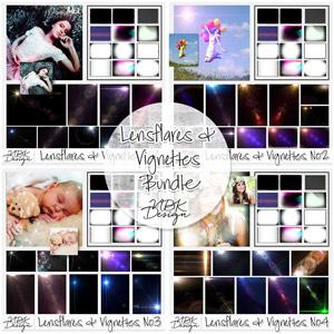 Lensflares & Vignettes Bundle