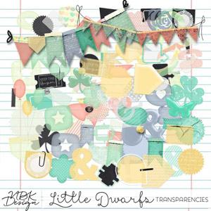 Little Dwarfs {Transparencies n' Stuff}