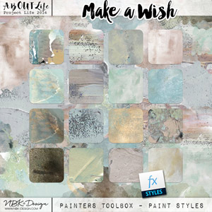 Make a Wish {Painter-Toolbox: Paint-Styles}