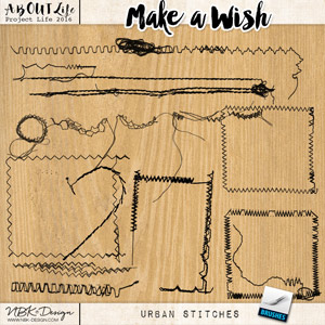 Make a Wish {Urban Stitches}