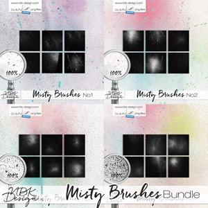 Misty Brushes {Bundle}