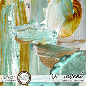 re-invent {Awesome real Paintstrokes}