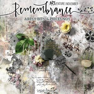 Remembrance {Artsy Bits & Pieces No.1}