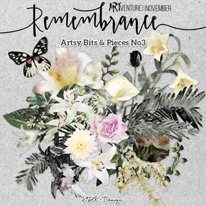 Remembrance {Artsy Bits & Pieces No.3}
