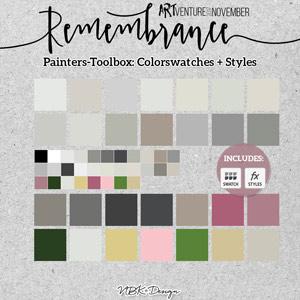 Remembrance {Painters-Toolbox: Colors}
