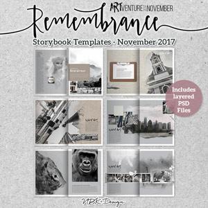 Remembrance {Storybook-Album November 2017}