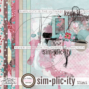 Simplicity {Artsy Bits & Papers Kit}