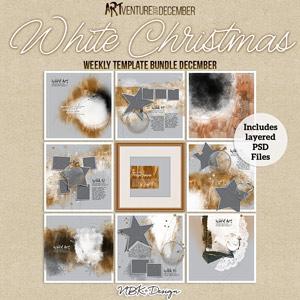 White Christmas {Template Bundle December 2017 | Weeks 49 - 52}
