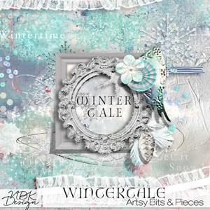 Wintertale {Artsy Bits & Pieces}