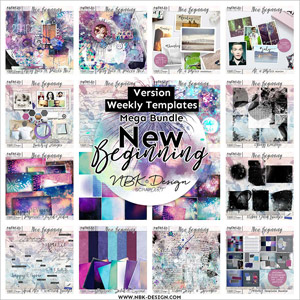 NEW BEGINNING {Megabundle Weekly Templates January 2016}