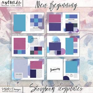 New Beginning {Storybook Mini Album}