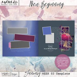 New Beginning {Template 03}