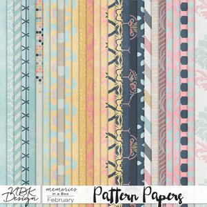 February {Paper-Set: Pattern}