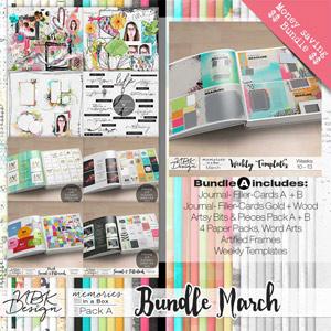 March {Megabundle A | Weekly Templates 2015}