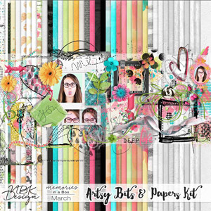 March {Artsy Bits & Paper Kit}