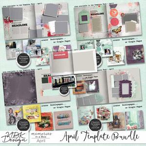 April {Weekly Templates 2015   Weeks 14 – 18}