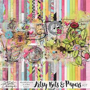 May {Artsy Bits & Papers Kit}