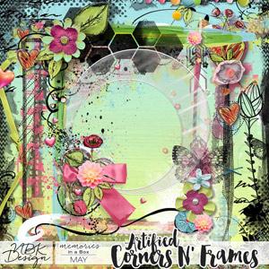 May {Corners N' Frames}