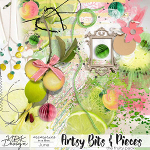 June {Artsy Bits and Pieces Pack B}
