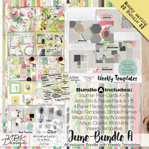 June {Megabundle A | Weekly Templates 2015}