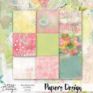 June {Paper-Pack Mixed Media}