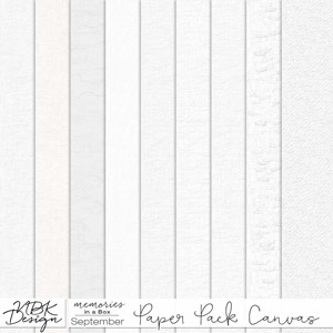 September {Paper-Set: Canvas}