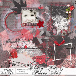 November {Artsy Bits & Pieces No2}