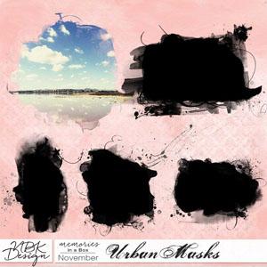 November {Urban Masks}