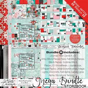 December {Megabundle B | Storybook Templates 2015}