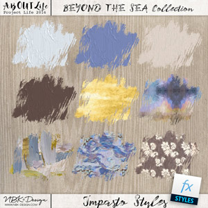 Beyond the Sea {Impasto-Paint-Styles}