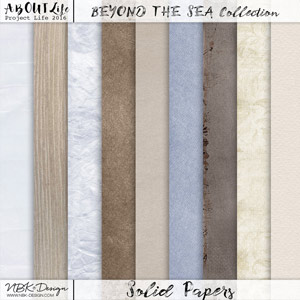 Beyond the Sea {Solid Papers}