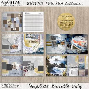 Beyond the Sea {Template Bundle July 2016   Weeks 27 – 30}