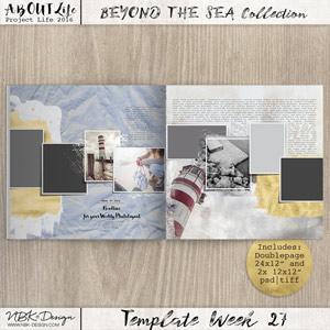 Beyond the Sea {Template 27}