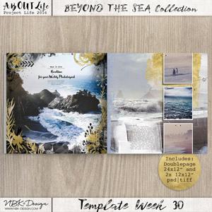 Beyond the Sea {Template 30}